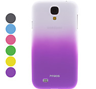 cheap -For Samsung Galaxy Case Other Case Back Cover Case Color Gradient PC Samsung S4