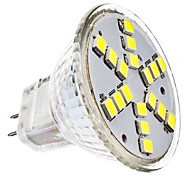cheap -2W 6000 lm GU4(MR11) LED Spotlight MR11 18 leds SMD 2835 Cold White AC 12V DC 12V