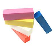 2PCS Buffer Sanding Block File Nail Art(Random Color)