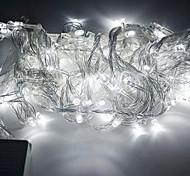 100-LED 10M Праздник Рождество украшения холодный белый свет Светодиодный свет шнура