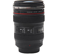 1 Piece Creative Camera Lens Coffee Mug With Cover Handy Cup