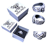 cheap -Jewelry Inspired by One Piece Portgas D. Ace Anime Cosplay Accessories Ring Alloy Men's Hot
