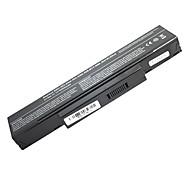 5200mah batería del ordenador portátil del reemplazo para Acer MSI BenQ HP500 HP900 A9T SQU-528 F3 6 celdas - Negro