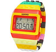 Armbanduhren für den Alltag Digitaluhr digital Band