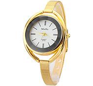 cheap -Women's Quartz Bracelet Watch Casual Watch Alloy Band Elegant Fashion Silver Gold