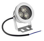 cheap -800 lm Underwater Lights 3 leds High Power LED Waterproof Cold White AC 12V