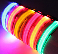 Cuello Luces LED Ajustable/Retractable Un Color Nailon