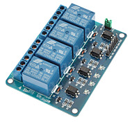 cheap -4 Channel 12V Low Level Trigger Relay Module for (For Arduino) (Works with Official (For Arduino) Boards)