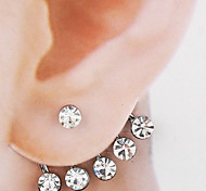 cheap -Women's Stud Earrings Front Back Earrings Bridal Fashion Alloy Jewelry Jewelry Wedding Party Anniversary Daily