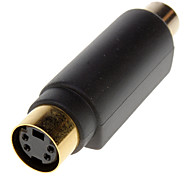 cheap -S-Video Female to RCA Female Adapter
