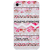 Luminous Small Flower Pattern PC Material Hard Case for iPhone 4/4S