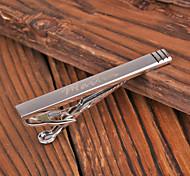 Недорогие -Персональный подарок Зажимы для галстука Металл Муж. Деловые Гламур Modern Подарок