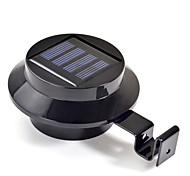 Недорогие -Новый 3 светодиодных солнечной энергии для водостоков Дверь Забор Настенные светильники Открытый сад освещения (СНГ-57208)