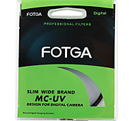 Fotga 55mm Ultra Slim Pro6 Mc Multi-Coated UV Ultraviolett-Filter Objektiv-Schutz