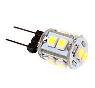 1W G4 LED Corn Lights T 10 leds SMD 2835 Cold White 60-80lm 5500-6500K DC 12V