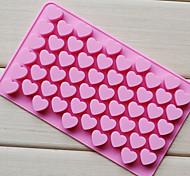Недорогие -выпечке Mold Сердце Пироги Печенье Торты Силикон Экологичные День Святого Валентина Высокое качество