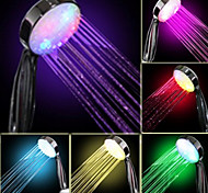 cheap -Water Flow Power Generation Gradual Color Changing LED Hand Shower