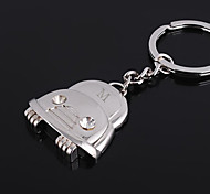 cheap -Personalized Engraved Gift Car Shaped Keychain with Rhinestone