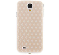 cheap -Case For Samsung Galaxy Samsung Galaxy Case Pattern Back Cover Geometric Pattern PC for S4