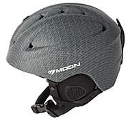 MOON Helmet Women's Men's Unisex Half Shell Sports Helmet Snow Helmet CE PC EPS Winter Sports Ski Snowboarding Snow Sports