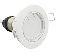 GU10 Lâmpadas de Foco de LED 56 leds SMD 3014 Regulável Branco Quente 580lm 2700K AC 220-240V