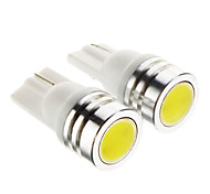 T10 Car Cold White 1W 6000 Instrument Light Reading Light Side Marker Light Brake Light Door lamp