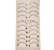 Hand-made Natural False Lower Eyelashes 021# Cosmetic Beauty Care Makeup for Face