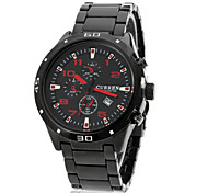 cheap -CURREN® Men's Round Dial Alloy Band Quartz Analog Wrist Watch (Assorted Colors) Cool Watch Unique Watch Fashion Watch