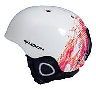 Недорогие -MOON Лыжный шлем Универсальные Снежные виды спорта Зимние виды спорта Лыжи Сноубординг Ультралегкий (UL) Спорт CE