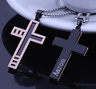cheap -Personalized Gift Necklaces Stainless Steel Unisex Business Glam Classic Holiday Gift