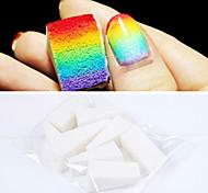 8шт Профессиональная Маникюр Губка Nail Art Инструменты для градиент цвета ногтевого искусства & Mulit-цвета ногтей