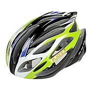 FJQXZ Integrally-molded EPS+PC Green Cycling Helmets (21 Vents)