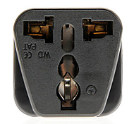 Universal Travel AC Plug Power Adapter (Black, Plug)