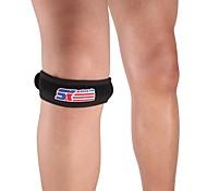 Silicon Sport Patella Band Knee Guard Protector - Free Size