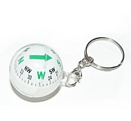 cheap -Ball Style Compass Keychain-Assorted Color