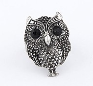 Korean Fashion Retro Owl Opening Adjustable Ring
