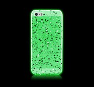 Case For iPhone 5 Case Glow in the Dark Back Cover Glitter Shine Hard PC for iPhone SE/5s iPhone 5