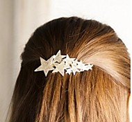 cheap -Fashionable Shining Five Pointed Star Hair Clips