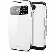 S-View Flip Robot Full Body Smart Case for Samsung Galaxy S4 I9500 (Assorted Color)