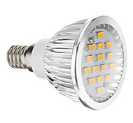 economico -5W 380 lm E14 GU10 GU5.3(MR16) E26/E27 Faretti LED 15 leds SMD 5730 Bianco caldo Luce fredda AC 100-240V