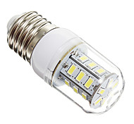 3W E14 E26/E27 LED Corn Lights 24 leds SMD 5730 Warm White Cold White 270lm 6000-6500K AC 220-240V