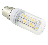 6W B22 LED Corn Lights T 48 SMD 5730 600-650lm Warm White 3000~3500K AC 220-240V