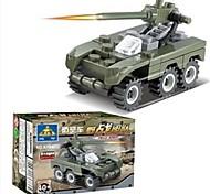 Недорогие -Детские пластиковые Блоки Военные ПВО игрушки автомобиля