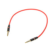 cheap -0.25M 0.8FT Auxiliary Aux Audio Cable 3.5mm Jack Male to Male Cable