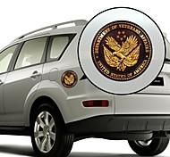 cheap -Emblem of Eagle Pattern Decorative Car Sticker