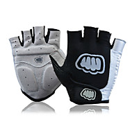 FJQXZ Sports Gloves Bike Gloves / Cycling Gloves Wearable Breathable Wearproof Anti-skidding Snowproof Protective Fingerless Gloves Lycra