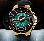 cheap -SKMEI Men's Quartz Digital Japanese Quartz Digital Watch Wrist Watch Sport Watch Alarm Calendar / date / day Chronograph Water Resistant