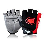 FJQXZ Sports Gloves Bike Gloves / Cycling Gloves Wearable Breathable Wearproof Protective Anti-skidding Shockproof Fingerless Gloves Lycra