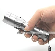LED Flashlights / Torch Handheld Flashlights/Torch LED 1000 lm 3 Mode Cree XM-L T6 Impact Resistant Nonslip grip Waterproof for
