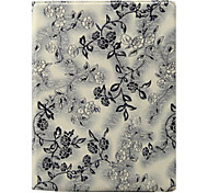 cheap -Case For iPad 4/3/2 with Stand Auto Sleep / Wake 360° Rotation Full Body Cases Flower PU Leather for iPad 4/3/2